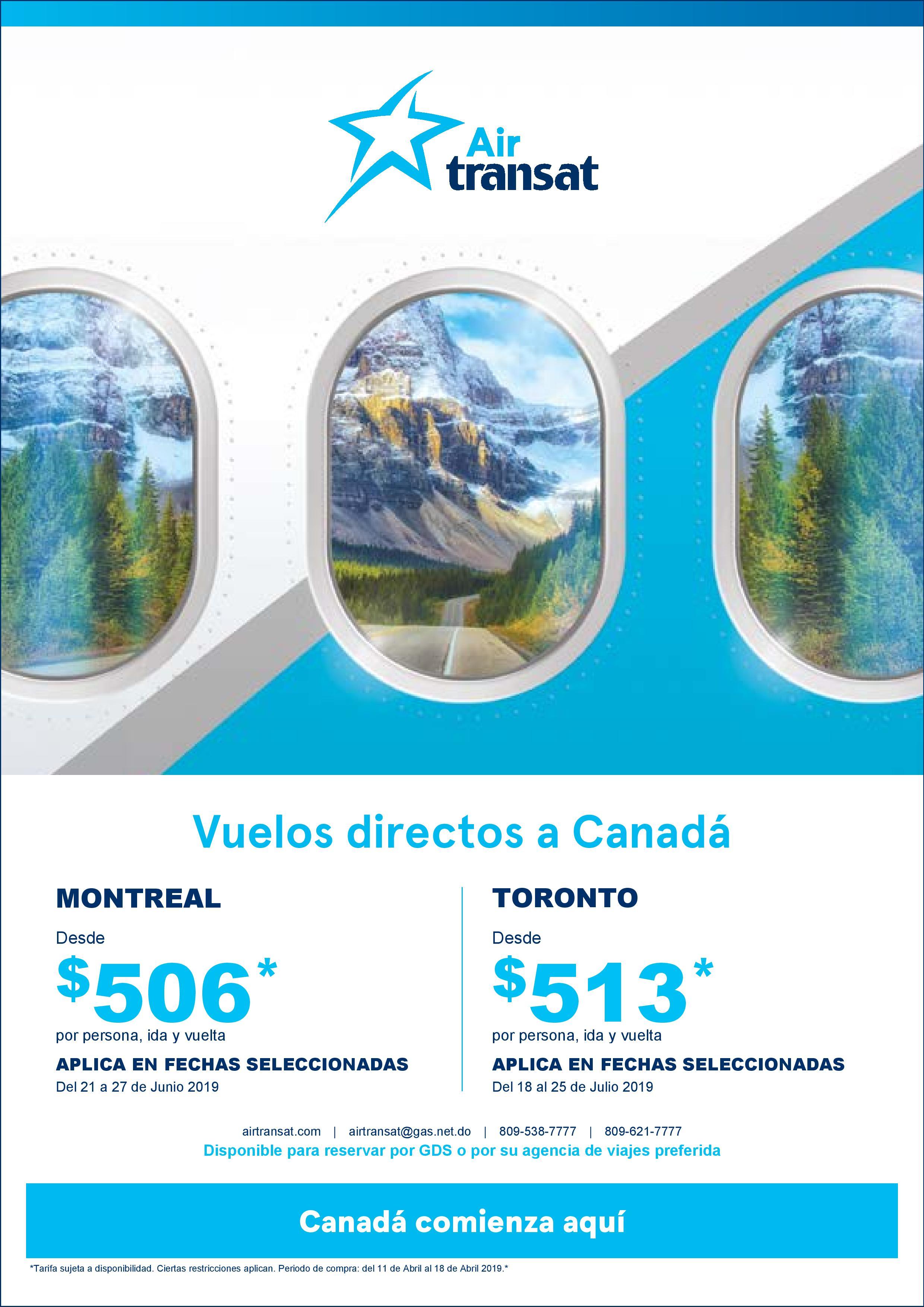 Promo Air Transat
